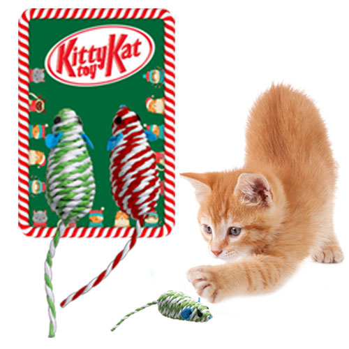 Holiday Kitty Toy Image
