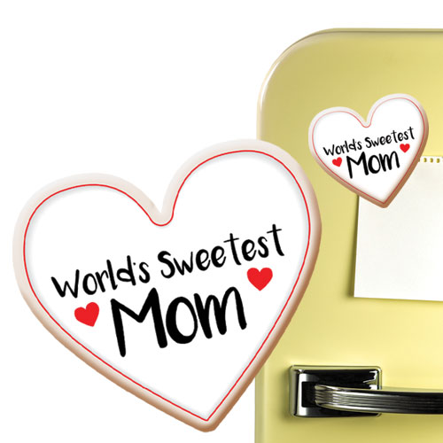 Sweetest Mom Cookie Magnet Image
