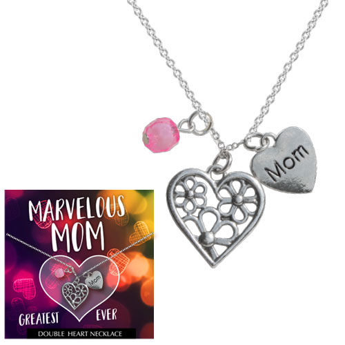 Mom Heart Necklace Image