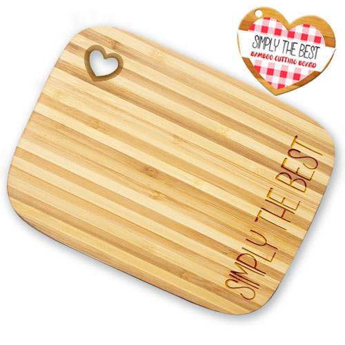 Simply The Best Bamboo Cutting Board Image