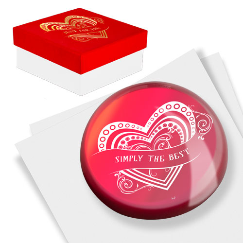 I Love You Paperweight Image