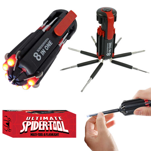 Super Spider Tool With Light Image